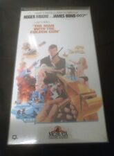 James Bond The Man With The Golden Gun (VHS,1974) Remastered Collectors Edition