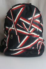 Rare TOMMY HILFIGER Ribbon (Red / White / Blue) Unisex Backpack / Rucksack