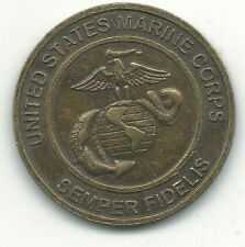 BETTER GRADE USMC MARINE FOUNDATION TOYS FOR TOTS TOKEN-JUN202