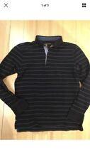 Massimo Dutti Blue Striped Shirt Size M