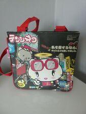 GIRLS CUTE TENSHINEKO ANGEL KITTY/HELLO KITTY CROSS BODY BAG USED ONCE