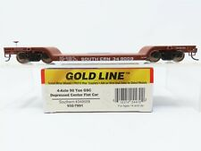 HO Scale Walthers Gold Line 932-7891 Southern Despressed Center Flat Car #349009