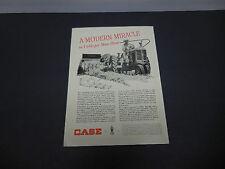 J.I. Case Farm Equipment & Implements Print Ad 1947 Sliced Hay Baler Tractor