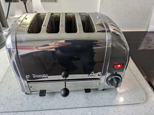 Dualit D4BMHA  4 SLICE TOASTER ~Excellent Condition