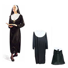 Halloween Costumes Woman Disfraces Nuns Sisters Costume Cosplay Game Uniforms
