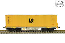 Rocky-Rail 40132 Sgmmns 40 mit Container MSC (AC) ++ NEU in OVP