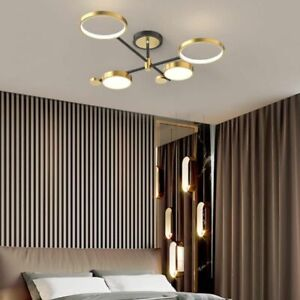 Large Chandelier Lighting Gold Pendants Light Modern Ceiling Lamp Kitchen Lights