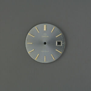 Omega Dial Zifferblatt 29,3mm vintage GENEVE Grey Date
