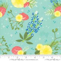 Moda Quilt Fabric Desert Song Denim by half-yard #13303 18 color dark blue
