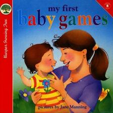 My First Baby Games (Harper Growing Tree)-ExLibrary