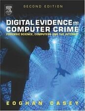Digital Evidence and Computer Crime by Eoghan Casey (2004, Hardcover, Revised)