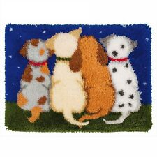 PUPPY DOG TAILS LATCH HOOK RUG KIT from UK Seller, BRAND NEW