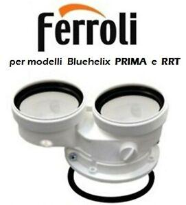 Kit fumi sdoppiato FERROLI caldaie condensazione Bluehelix PRIMA e Tech RRT