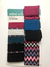 Scunci Pack 44 Hair Ties And 4 Headbands New Free Shipping