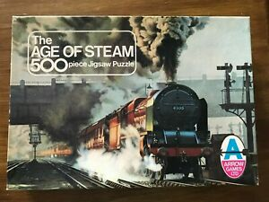 Age of Steam jigsaw (500 pieces) 19.25 inches (49cm) x 14 inches (36cm)