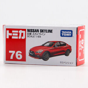 Tomica 1/64 Nissan SKYLINE NO#76 Red Metal Diecast Vehicle Toy Car