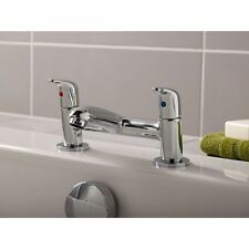 UK MANUFACTURED TOP QUALITY TAP IDEAL STANDARDS OPUS BATH FILLER AND BASIN TAPS