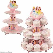 Disney Princess Cupcake Treat Stand Centerpiece Birthday party Supply Decoration