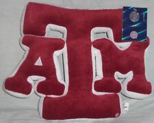 "Texas A&M Aggies Pillow Plush Mascot Stuffed Soft Toy Logo 10"" Tall New -="
