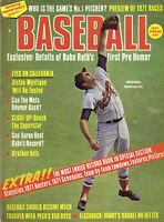 1971 Sports Quarterly, magazine, baseball, Brooks Robinson, Baltimore Orioles EX
