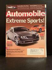 Automobile Magazine : Extreme Sports March 2002