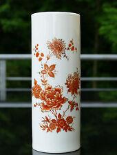 """AK Kaiser Vase """" Burgund """" mit edlem floralem Design und Goldstaffierungen !!!"""