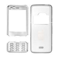Oberschale für Handy Nokia N82 Akkudeckel Schale Glass schwarz