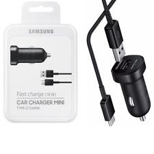 Original Samsung USB-C TYP-C KFZ Auto Ladekabel Ladegerät EP-LN930 S9+ A8 S8+