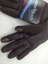 Women's Isotonoer Brown Soft Gloves - Size M/L - MSRP $58
