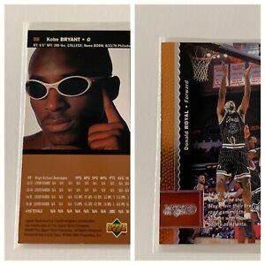 1996-97 Upper Deck 58 Kobe Bryant Rookie RC, On Back Error, Donald Royal RARE!!!