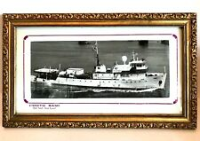 Egyptian Port Said Suez Canal Framed Picture Vintage Photo SAMI 15 x 9 inches