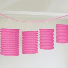 Décorations de fête guirlandes rose pour la maison