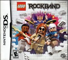 LEGO ROCK BAND (Nintendo DS NDS Game) FREE US SHIPPING