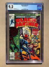Black Panther #3 CGC 9.2 Jack Kirby, Marvel 1977 🔥
