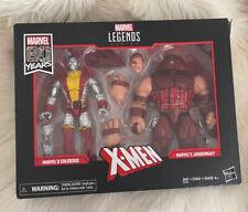 MARVEL LEGENDS 80 YEARS 2019 X-MEN MARVEL'S COLOSSUS & JUGGERNAUT BOX SET HASBRO
