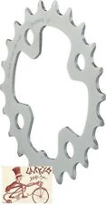 SHIMANO DEORE M510 22T X 64MM 9-SPEED SILVER BICYCLE CHAINRING