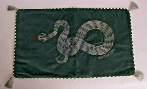 New & perfect Pottery Barn HARRY POTTER™ Slytherin™ lumbar pillow cover