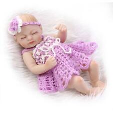 Alive Miniature Preemie Vinyl Full Body Reborn Doll Handmade Mini Baby Toys 10in