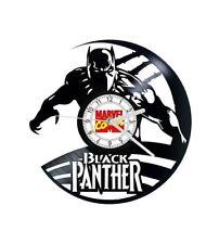 Black Panther Vinyl Record Clock Home Decor Unique Xmas Gift Marvel