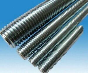 1/2-13 X 3' UNC A307 Grade A All Thread Rods Zinc 12 Sticks