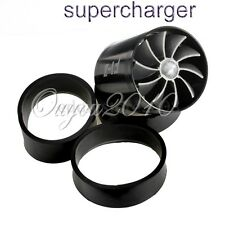 Supercharger Turbonator F1-Z Double Fan Turbine Turbo Air Intake Fuel Gas Saver