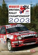 British Rally Championship - Official review 2003 (New DVD) Milner McHale