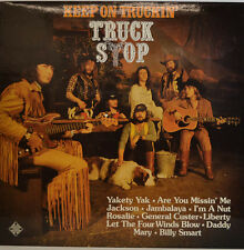 TRUCK STOP - KEEP ON MARCHEUSE' - 622142 STÉRÉO PROMO MARQUE BLANCHE LP (X504)