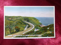Vintage Marine Drive looking to Island Of Sark, Jersey, Channel Islands POSTCARD