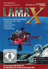 Lama X Flight Simulator X & 2004 AddOn Flugsimulator | PC