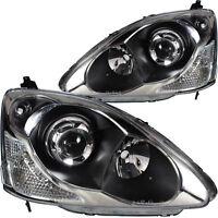 Scheinwerfer Set für Honda CIVIC VII Hatchback (EU, EP, EV) Bj. 03.99-02.06