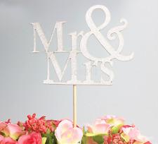 Economic Mr&Mrs Romantic Shiny Cake Topper Wedding Party Top Letter Decor AU