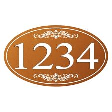Personalized House Address Sign Plaque Aluminum Won't Fade, Peel or Chip HP007