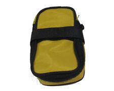 Borsa borsetta sottosella porta camera d'aria gialla astuccio per bici da corsa