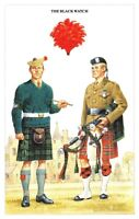 Postcard The British Army Series No.48 The Black Watch by Geoff White